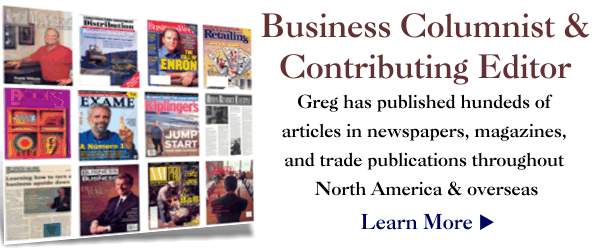 Business Columnist &#038; Contributing Editor