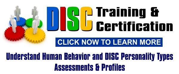 disc training, disc certification, disc assessment, profiles