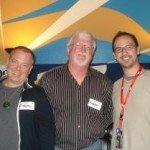 Greg with Jeffrey and my host, Rafael Mojica