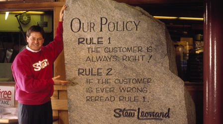 Stu Leonard's Secret for Great Customer Service